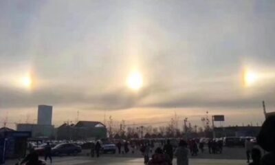 Three suns were observed high above Beijing for 2 hours (video) 78