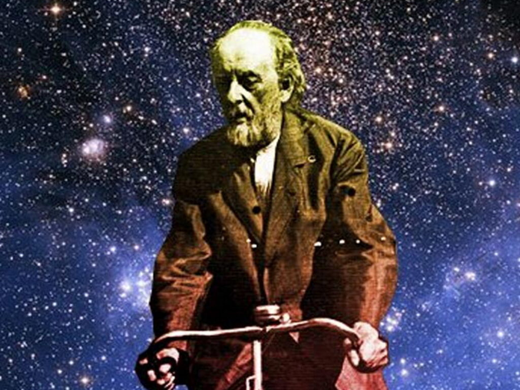 """""""The animals are gone. There is only one person left """": media replicate frightening Tsiolkovsky's 100-year-old vision 1"""