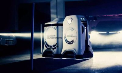 Volkswagen robot will autonomously charge cars: a working prototype presented 95