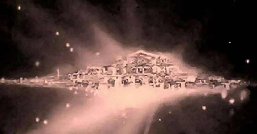 "About the so-called ""City of God"" found in one of the space images. Fiction or reality? 12"