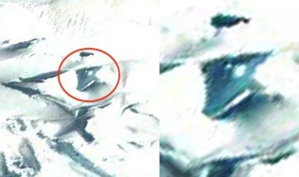 UFO or hoax: what is found in Antarctica? 102