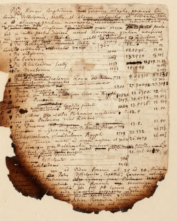 The manuscripts in which Isaac Newton tried to determine the date of the Apocalypse will be sold at auction 87