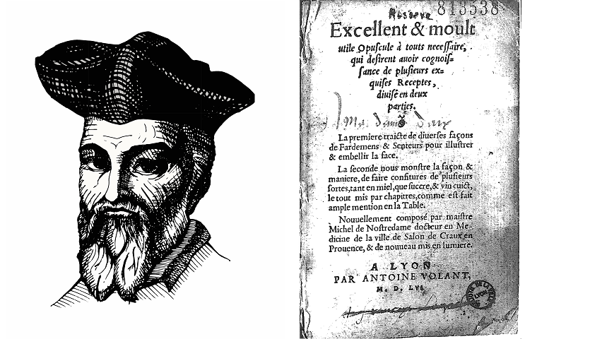 An amazing cookbook by Nostradamus. Why the alchemist treated plague and impotence with jam 91