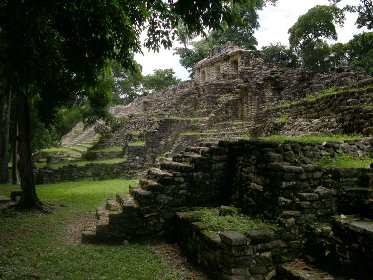 What will never be shown to ordinary tourists on the ruins of ancient Mayan cities