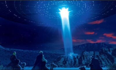 "Jesus was an alien, and the Star of Bethlehem was a spaceship: ufologist told the ""truth"" about Christmas 93"