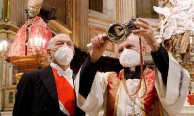 The apocalypse is near. The miracle of Saint Januarius failed 99