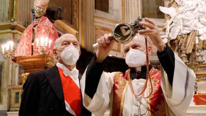 The apocalypse is near. The miracle of Saint Januarius failed 1