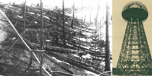 "It is assumed that Tesla was related to the history of the Tunguska ""meteorite""..."