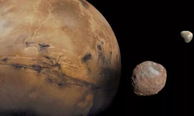 An unexplained wobble shifts the poles of Mars 7