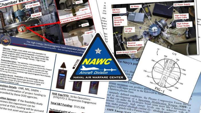 """US Navy """"UFO patents"""": what is known 1"""
