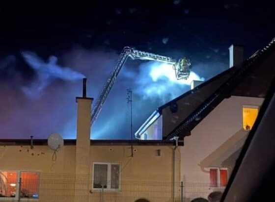 Was an Angel filmed over a house extinguished by firefighters? 86