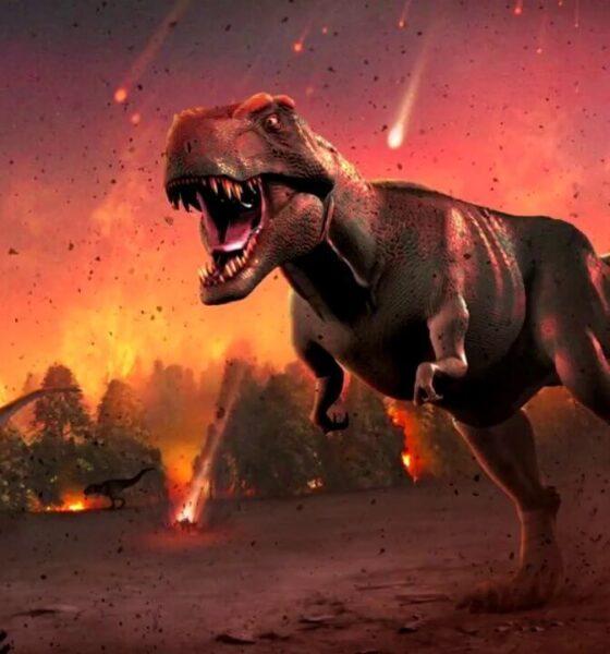Ancient asteroid sent dinosaur bones into moon 86
