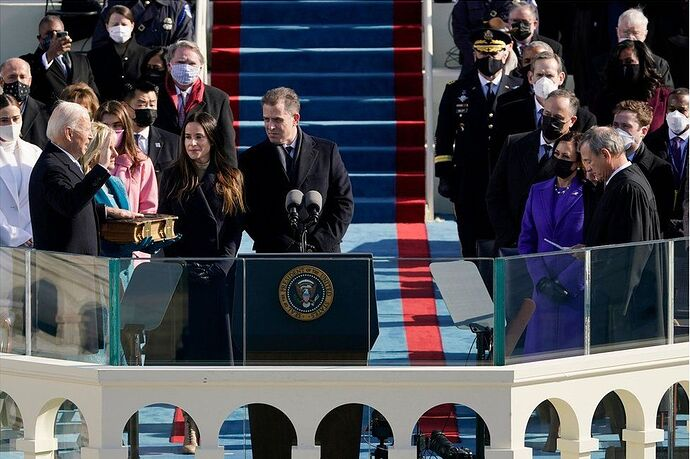 The surreal oddities of Biden's inauguration. Questions that have not yet been answered neither by the media, nor by government officials 7