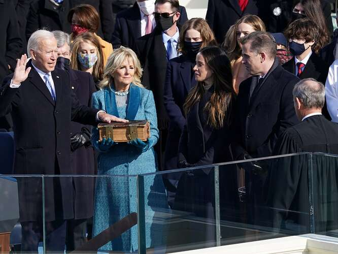 The surreal oddities of Biden's inauguration. Questions that have not yet been answered neither by the media, nor by government officials 8