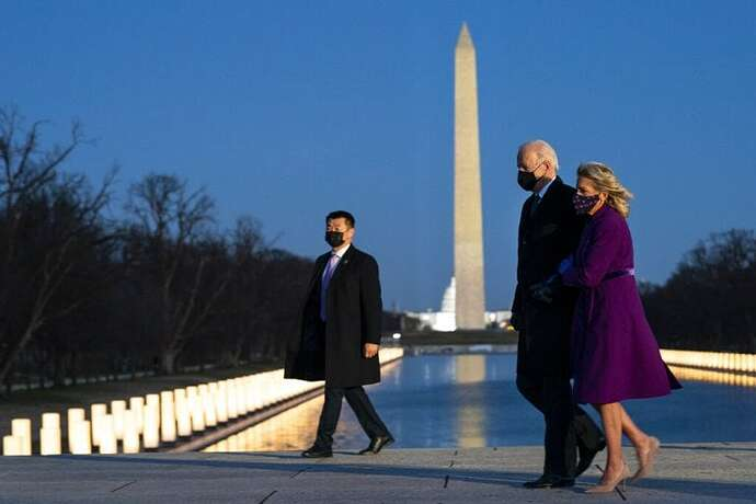 The surreal oddities of Biden's inauguration. Questions that have not yet been answered neither by the media, nor by government officials 9