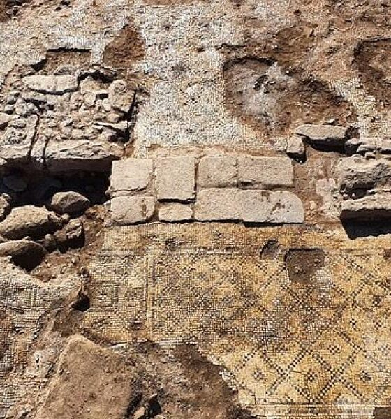 An ancient Greek inscription of 1,500 years dedicated to Christ was discovered in Israel 86