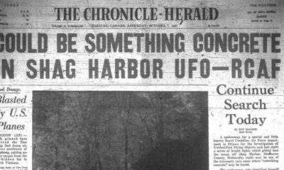 """Canadian Roswell"": Jacques-Yves Cousteau family investigating a UFO crash near Shag Harbor 19"