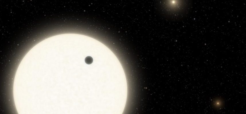 KOI-5Ab, the curious planet that orbits in a system of three suns 90