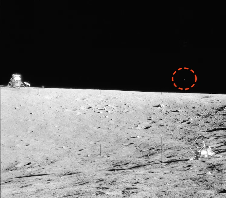The far side of the moon - alien bases or an ancient astronaut's cemetery?