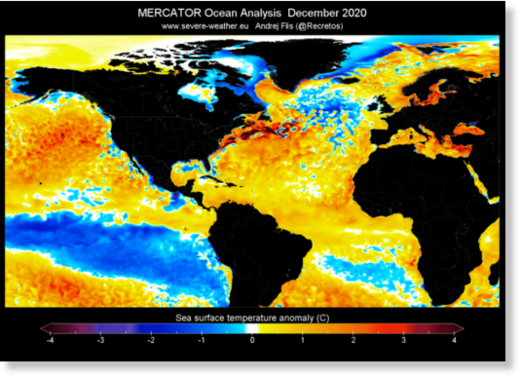 Unusual oceanic anomaly discovered in the Gulf Stream is a sign of global climate change and New Ice Age Apocalypse? 3