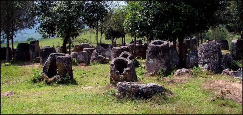 Laos miracle: the mystery of the Valley of stone jugs unraveled 1