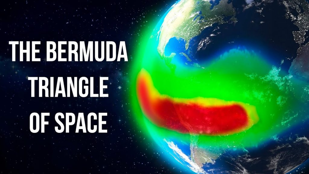 "Scientists spoke about the ""Bermuda triangle of space"" anomaly which turns off satellites and ISS Computers 1"
