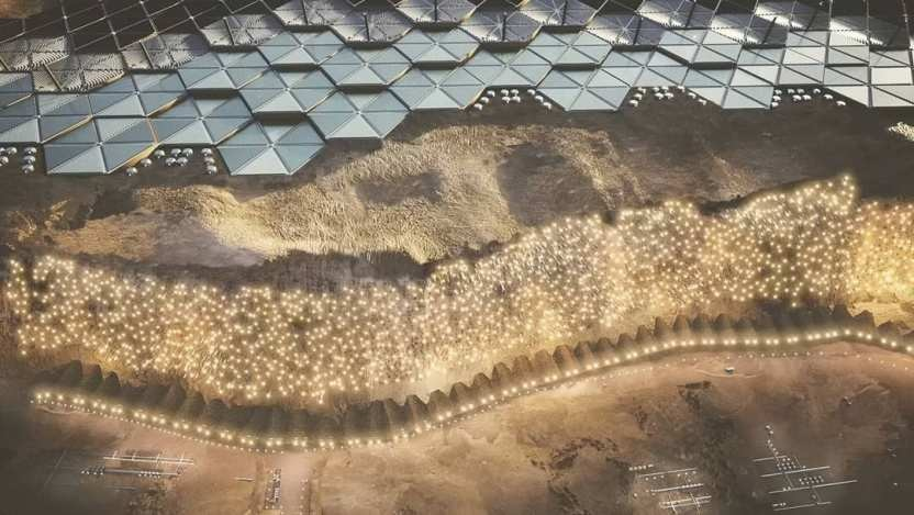 The first project of a city on Mars for 250 thousand people has been published 1