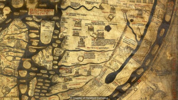 The Road to Paradise and other intricacies: Hidden Mysteries of the oldest medieval map in the world 37