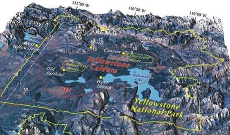 The Yellowstone Caldera is not calm.  Scares.