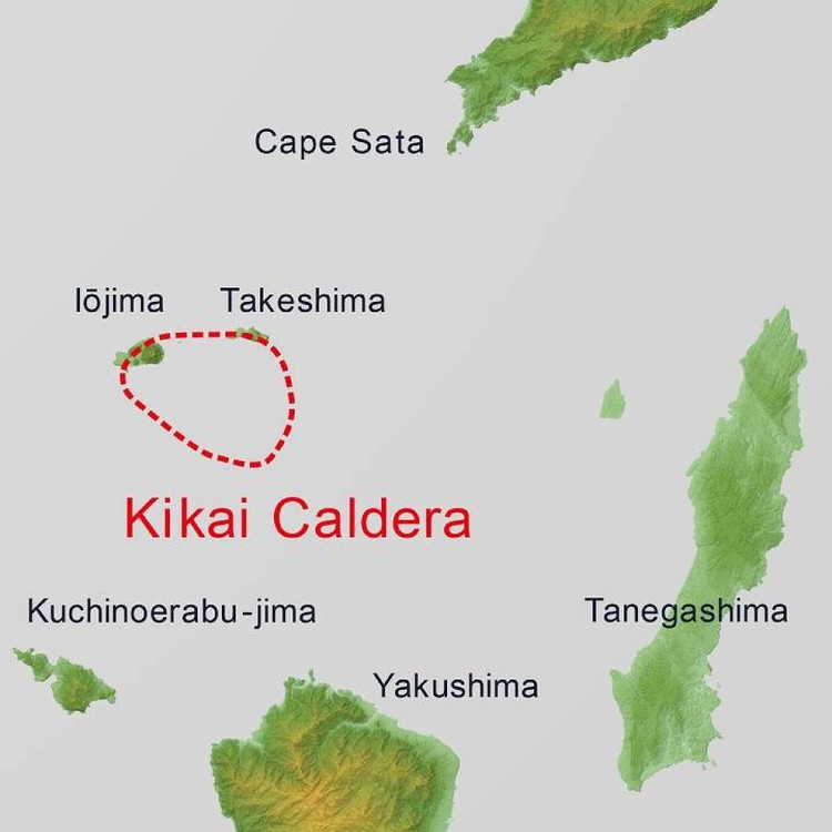 Another supervolcano is ripening near Japan.