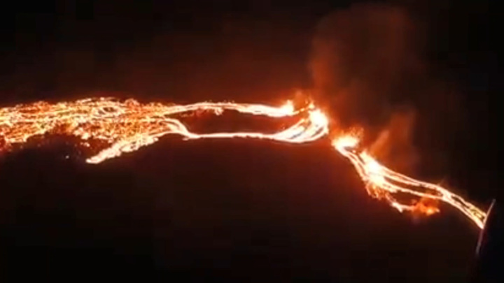 For the first time in 6,000 years. Volcanic eruption in Iceland, the latest information 3