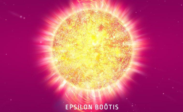 Epsilon Boötis Star