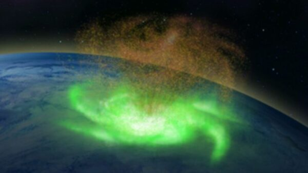 For the first time in history, a space hurricane over the North Pole was observed by scientists 8