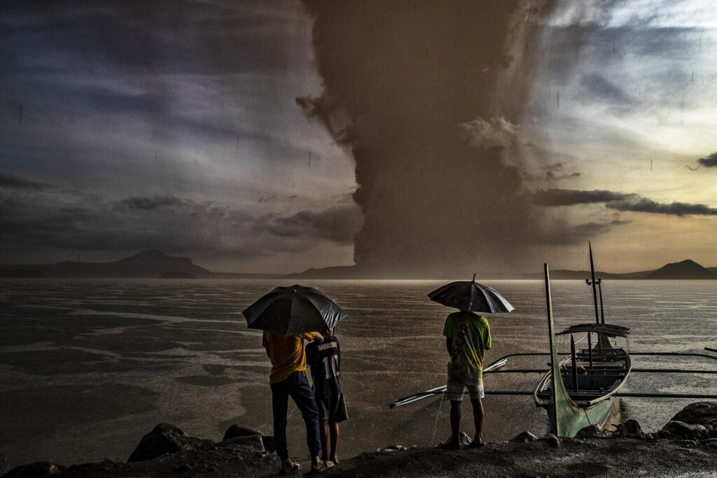 Volcanic hell: The eruption of the Taal supervolcano in Philippines is the beginning of a chain reaction 1