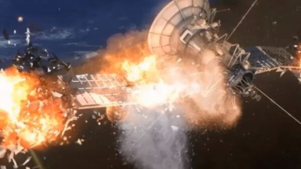 Two satellites have exploded under mysterious circumstances in space 15