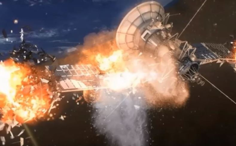 Two satellites have exploded under mysterious circumstances in space 3