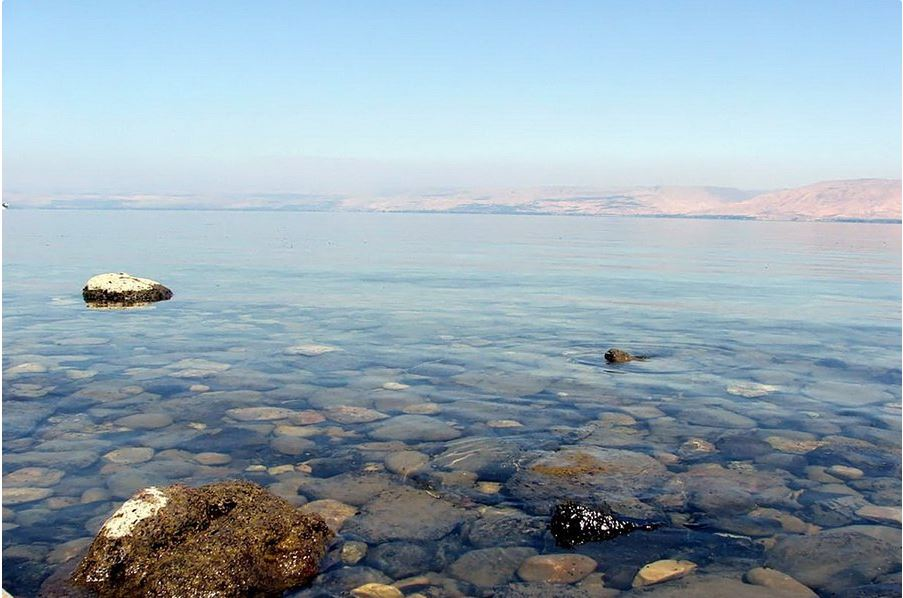 Perfect round giant ball: strange man-made ancient object discovered at the bottom of the Sea of Galilee 1