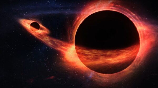 Astronomers are getting closer to the discovery of a black hole flying near the sun 8