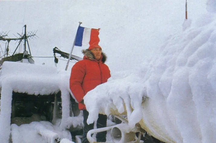 Jacques Yves Cousteau's mysterious expedition to Antarctica. What happened there? 1