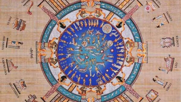 Dendera Zodiac is one of the most ancient astronomical messages left to mankind 10