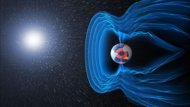 The state of the Earth's magnetic field indicates that it will soon shut down completely 3