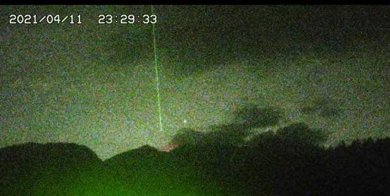 """Sky beams? In Portugal, a strange lightning strike """"blew up from the inside"""" 68 goats 6"""