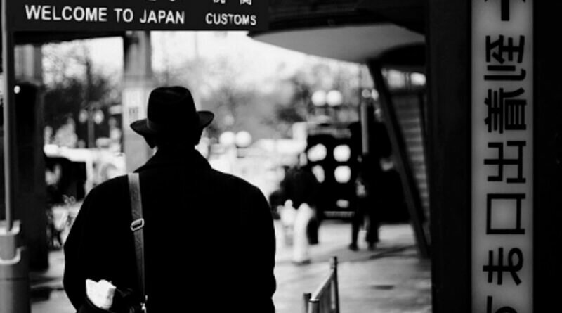 Stranger in Japan