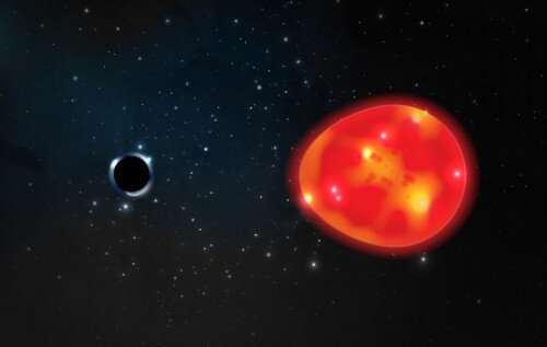 Astronomers are getting closer to the discovery of a black hole flying near the sun 2