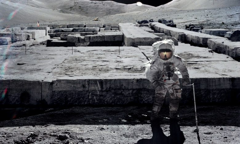 An alien ship, cryochambers, and the ruins of ancient buildings were found on the moon 5