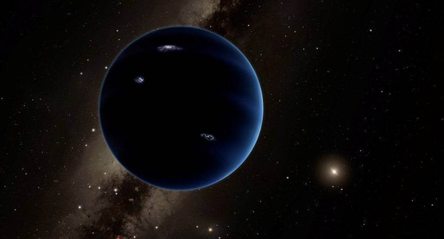 The ninth planet may not be hiding at all where we thought earlier 1