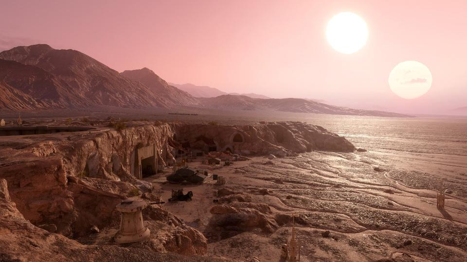 Is Tatooine real? Five double suns are discovered near which life is possible 1
