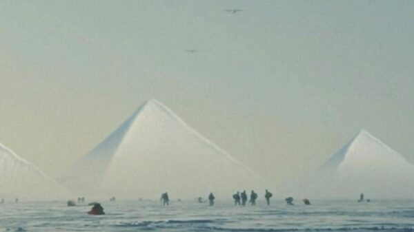Scientists have discovered pyramids in Antarctica: experts said that the history of mankind may be completely different 8