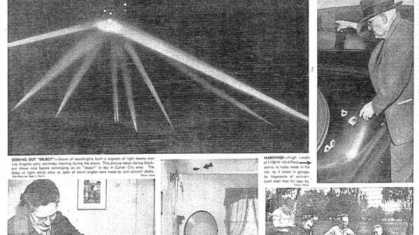 """U.S. Army shelled a UFO with thousands of artillery shells, it mysteriously disappeared without damage like a """"ghost"""" 7"""