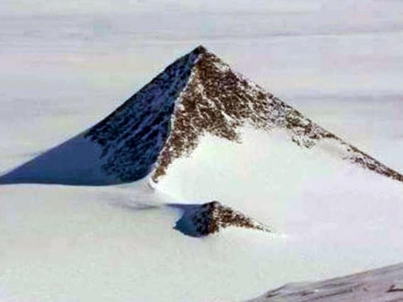 Pyramid in Antarctica